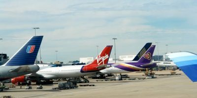 SYDNEY AIRPORT VIRGIN AIRLINE DEPARTURES